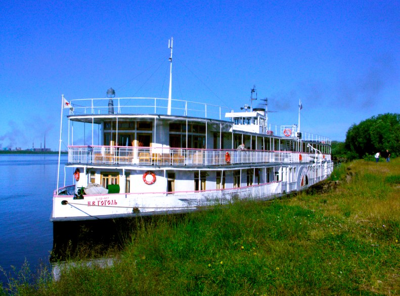 Cruises on the Gogol steamship